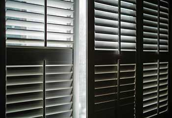 Faux Wood Exterior Shutters - Santa Monica