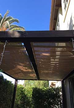 Wi-Fi Patio Shades In East Los Angeles