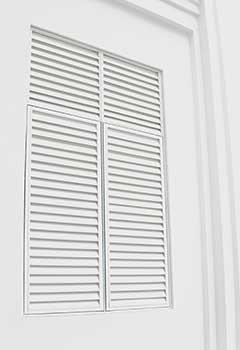 New White Plantation Shutters San Fernando